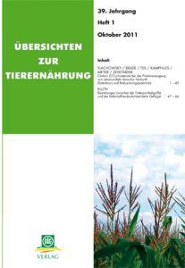 Übersichten zur Tierernährung 1/2011