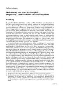 Veränderung und neue Beständigkeit. Progressive Landdiskotheken in Norddeutschland