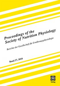 Proceedings of the Society of Nutrition Physiology Band 27