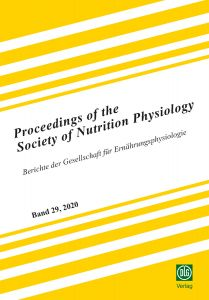Proceedings of the Society of Nutrition Physiology Band 29